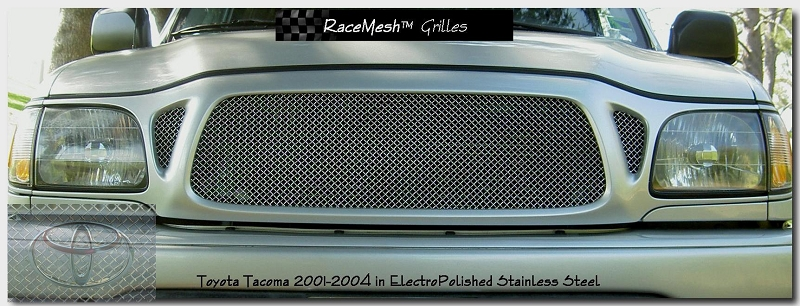 TOYOTA Tacoma (2001-2004) Upper Grille - Original Style Weave