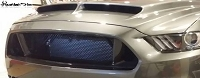 Ford Mustang S550 Cervini Ram Air Hood Inserts in Original Style Weave