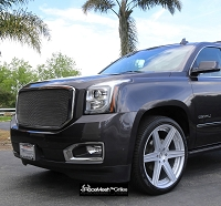 GMC Yukon / Denali / XL / SLE / SLT (2015 - Current ) Upper Main Grille  STOUT Style Weave